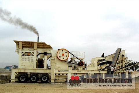 Mobile Crushing Plant in Uzbeki