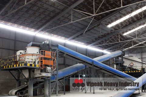 VSI Sand Making Machine Structure