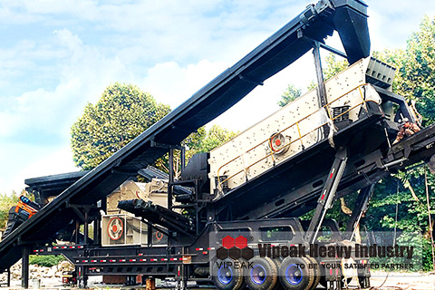VK Modular series of mobile crushing stations