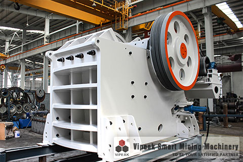 HJC high-efficiency jaw crusher
