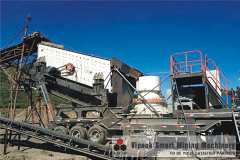 VK-2 Portable Medium and Fine Crusher&Screening Plant