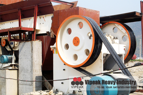 Reinforced Jaw Crusher
