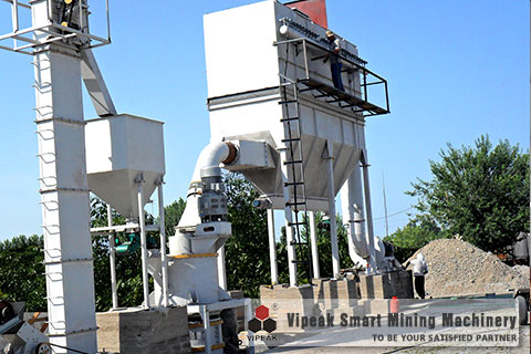 HGM Three-Ring Medium Speed Grinding Mill Production Line