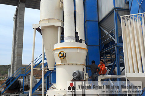 YGM High Pressure Grinding Mill Production Line
