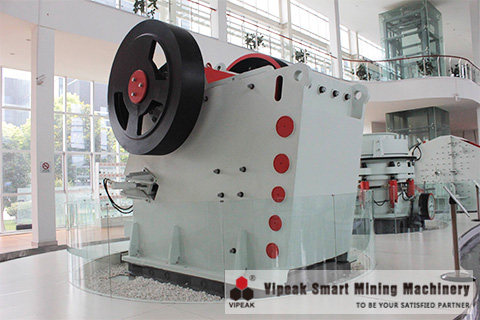 Stone Jaw crusher Structure