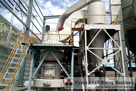 Q5 Grinder Mill for Refractory Material