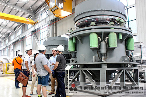 working principle of multi cylinder hydraulic cone Hydraulic cone crusher/sand crusher main work process is broken, clearance,   hpc series multi cylinder hydraulic cone crusher comprehensive upgrade.