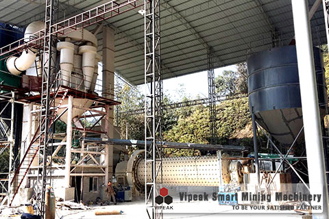 Hematite ball mill production site