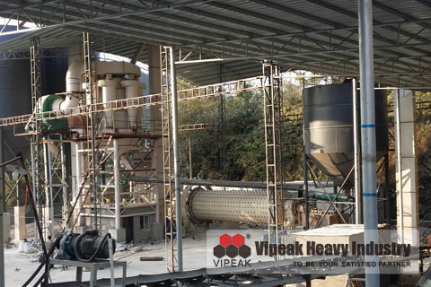 MQX Superfine Ball Mill Production Line