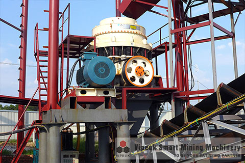 Iron Ore Crushing Production Line Site