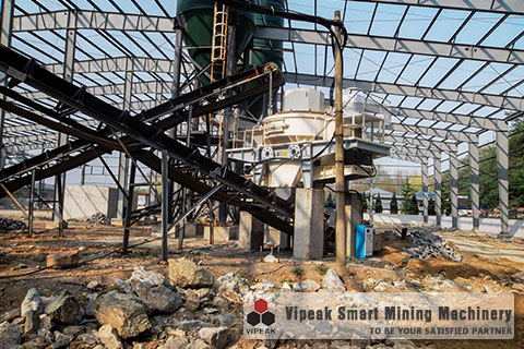 Artificial Granite Sand Making Production Line