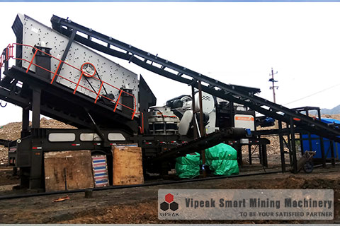 Multi-Combined Type Construction Waste Crushing Plant