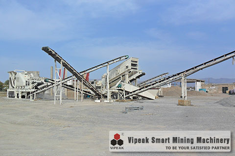 Six Mobile Crushing Plants Production Site in Uzbekistan